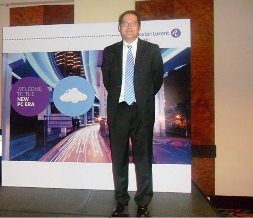David Rodríguez, Product Enginner CALA de Alcatel-Lucent Enterprise.