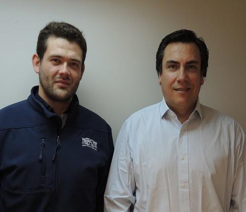 Miguel Ángel Gutierrez y Juan Pablo Ortuza.