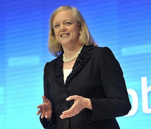 Meg Whitman, presidente y CEO de HP